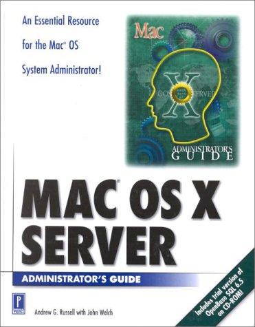 Mac OS X Server Administrator's Guide