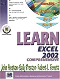 Learn Excel 2002 Comprehensive (0130097241) by Preston, John