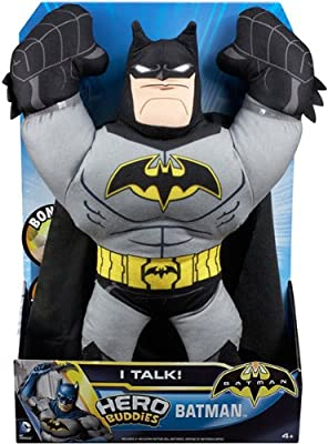 Batman Hero Buddies Action Figure Plush from Mattel