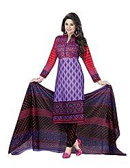 AASRI Women Pure Cotton Unstitched Salwar Suit - B013LT2Q62