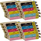 24 CiberDirect Compatible Ink Cartridges for use with Epson Stylus Photo RX620 Printers.