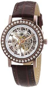 Regent Damen-Armbanduhr Analog Handaufzug Leder 12020008