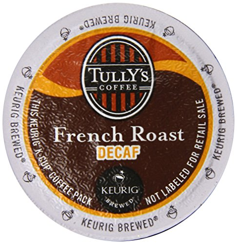 Tully's Coffee Dark Roast Extra Bold K-Cup for Keurig Brewers, French Roast Decaf Coffee (Pack of 96) (K Cups Coffee Tullys French Roast compare prices)