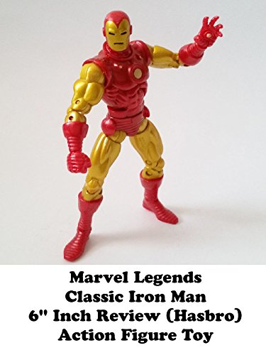 "Marvel Legends CLASSIC IRON MAN Review 6"" inch (Iron Monger Build A Figure series) action figure toy on Amazon Prime Video UK"