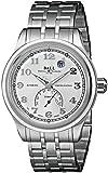 Ball Men's NT1050D-SJ-SLF Trainmaster Fahrenheit Analog Display Swiss Automatic Silver Watch