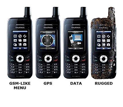 Thuraya XT Satellite Phone プリペイド 衛星 携帯 電話 SIMフリー