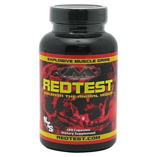 Muscleology Redtest 120 ea