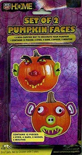 set-of-2-halloween-pumpkin-face-push-ins-like-mr-potato-head-for-pumpkins-by-rite-aid