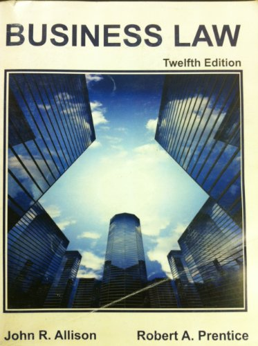 Business Law 12th Edition