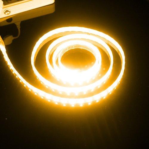 2M Set - Super Bright 5050 Smd Flex Led Light Strip 6.56Ft Waterproof Warm White