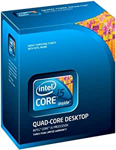 Intel Core i5 750 Processor 2.66 GHz 8 MB LGA1156 CPU  I5-750BOX