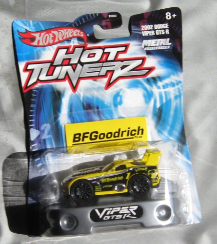 Hot Wheels Hot Tunerz 2002 Dodge Viper GTS-R YELLOW - 1