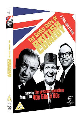 Golden Years of British Comedy [DVD]
