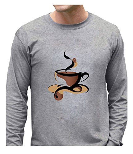Fatal Decision Men's Geek longsleeve Coffee House gray (Tassimo Watch compare prices)