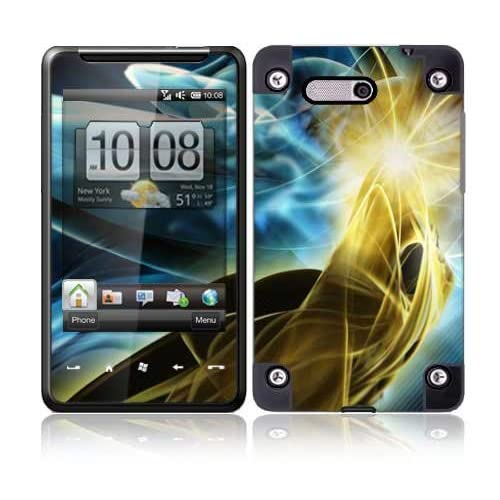 Abstract Power Protective Skin Cover Decal Sticker for HTC HD Mini Cell Phone