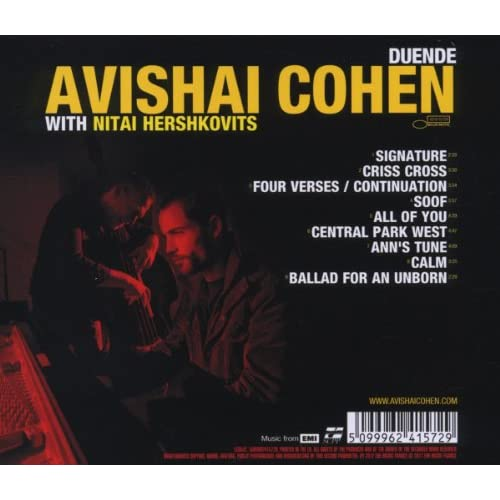 Duende-with-Nitai-Hershkovits-Avishai-Cohen-Audio-CD