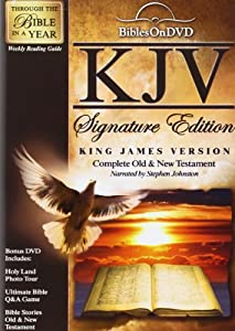 KJV Signature Edition Bible: Complete Old & New Testament