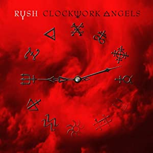 Clockwork Angels Rush Album on CD