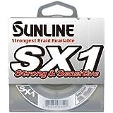 Sunline SX1 Braided Fishing Line (Dark Green, 10-Pound Test/125-Yard)