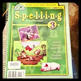 img - for Spelling 3 - Home Teacher's Edition book / textbook / text book