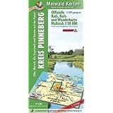 Pinneberg = Offizielle Rad-, Reit- u. Wanderkarte Kreis Pinneberg - Elbe, Marsch, die Vogelwelt und Gärten der...