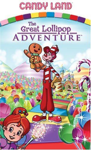 Candy Land - The Great Lollipop Adventure [VHS]