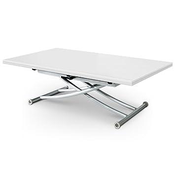 menzzo b2219 contemporain contemporain carrera xl table basse relevable bois inox bois inox. Black Bedroom Furniture Sets. Home Design Ideas