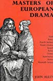 Masters of European Drama (0234775742) by Allen, John