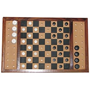 The Braille Store Checkers Set, Classic (Tactile)