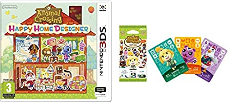 Animal Crossing: Happy Home Designer + 1 Tarjeta Amiibo + Pack 3 Tarjetas Amiibo