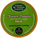 Green Mountain Coffee French Vanilla Decaf,  K-Cup Portion Pack for Keurig K-Cup Brewers, 24-Count