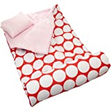 Wildkin Big Dot Red & White Original Sleeping Bag - One Size