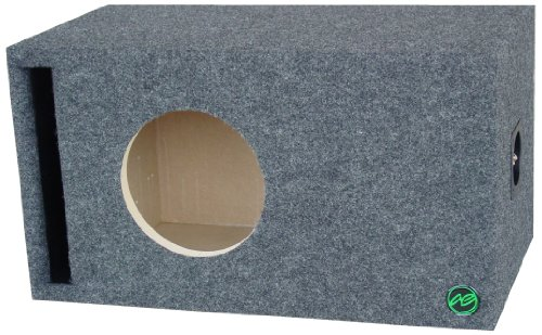 Audio Enhancers 8W7Sc Subwoofer Enclosure Box, Carpeted Finish