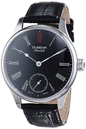 Dugena reloj de pulsera para hombre Epsilon 3Analog cuerda manual piel 7000057