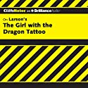 The Girl with the Dragon Tattoo: CliffsNotes (       UNABRIDGED) by Amie Whittemore Narrated by Kate Rudd