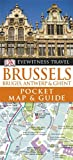 Dorling Kindersley ( DK CHU BAN SHE ) DK Eyewitness Pocket Map and Guide: Brussels