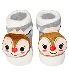 Wonderkids Squirrel Baby Socks Booties