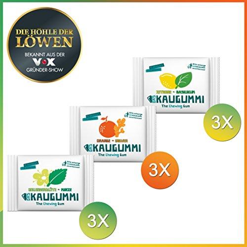 das-kaugummi-probierset-3-sorten-je-3-tuten-mit-jeweils-11-dragees-holunderblute-minze-orange-ingwer