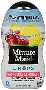 Minute Maid DROPS Raspberry Lemonade, 6 ct, 1.9 FL OZ Bottle