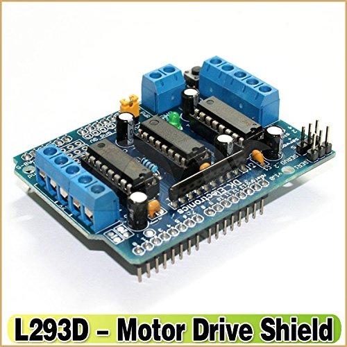 Buy electrobot motor driver shield expansion board l293d for L293d motor driver price