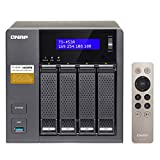 QNAP(キューナップ) TS-453A 専用OS QTS搭載 intelクアッドコア1.6GHz CPU 4GBメモリ 4ベイ SMB向け プライベートクラウド機能対応 NAS 2年保証
