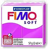 Staedtler Fimoâ soft Pâte à modeler 57 g Framboise