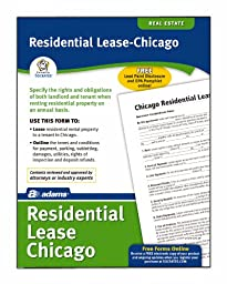 Adams Residential Lease-Chicago, Forms and Instructions (LF310-CHI)