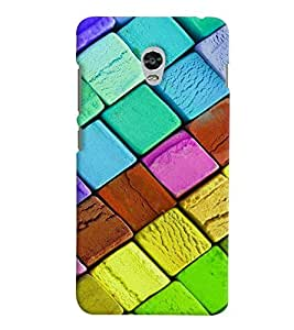 GADGET LOOKS PRINTED BACK COVER FOR Lenovo Vibe P1 MULTICOLOR