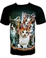 Rock Chang T-Shirt Sweet Cats Chats Douces R 630