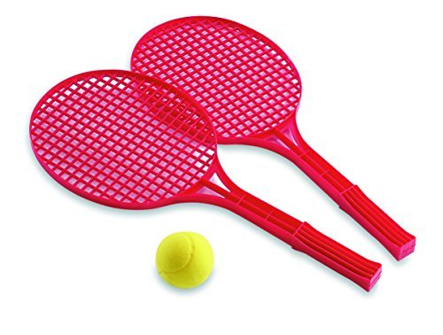 Adriatic 52 cm Beach Toys Tennis Rackets in Net Packaging (Red) by ADRIATIC günstig online kaufen