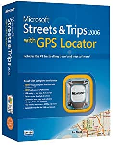 Microsoft Streets and Trips 2006 with GPS [OLD VERSION]