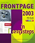 Frontpage 2003 in Easy Steps