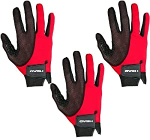 Buy THREE 3 Right hand, Head Web Racquetball Gloves by HEAD