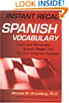 Instant Recall Spanish Vocabulary: Le...